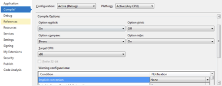 Force the 32-bit runtime to install using ClickOnce Deployment